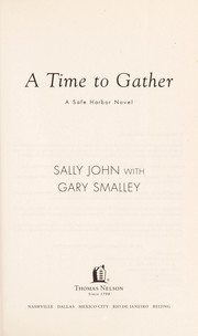 Cover of: A time to gather