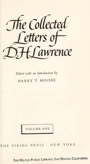 Cover of: Collected letters