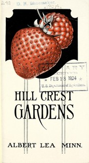 Cover of: Hill Crest Gardens [catalog] | Hillcrest Gardens