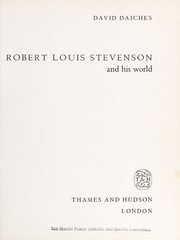 Cover of: Robert Louis Stevenson and His World