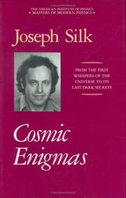 Cover of: Cosmic enigmas