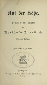 Cover of: Auf der Ho he