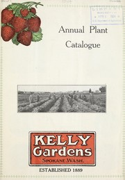 Cover of: Annual plant catalogue | Kelly Gardens
