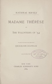 Cover of: Madame Thérèse