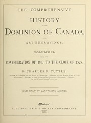 Cover of: The comprehensive history of the Dominion of Canada