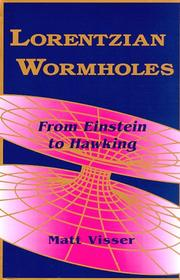 Cover of: Lorentzian Wormholes