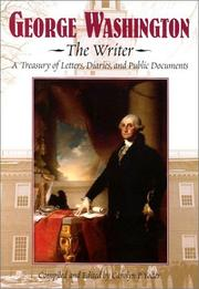 Cover of: George Washington, the writer