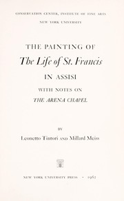 The painting of the life of St. Francis in Assisi by Leonetto Tintori