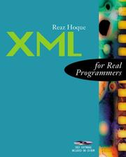 Cover of: XML for Real Programmers