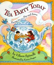Cover of: Tea Party Today: Poems to Sip And Savor