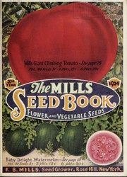 Cover of: Mills seed book, vegetable and flower seeds | F.B. Mills (Firm)