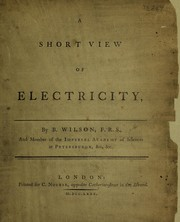 Cover of: A short view of electricity