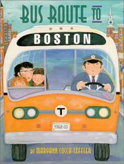 Cover of: Bus route to Boston