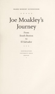 Cover of: Joe Moakley's journey