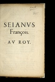 Cover of: Seianvs franc ʹois