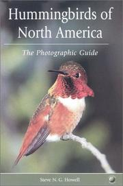 Cover of: Hummingbirds of North America