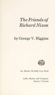 Cover of: The friends of Richard Nixon