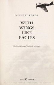 Cover of: With wings like eagles