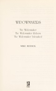 Cover of: Widowmakers |