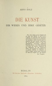 Cover of: Die Kunst