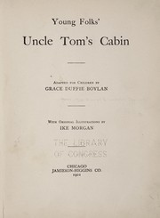 Cover of: Young folks' Uncle Tom's cabin
