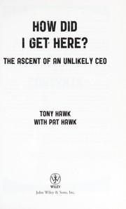 Cover of: How did I get here?