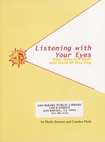 Listening with your eyes by Sheila Stewart
