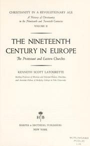 Cover of: Christianity in a revolutionary age | Latourette, Kenneth Scott
