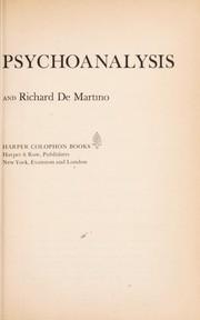 Zen Buddhism & psychoanalysis