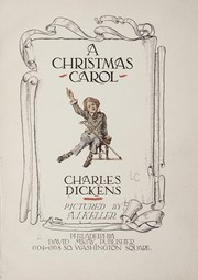 Cover of: A Christmas Carol | Charles Dickens