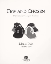Cover of: Few and chosen