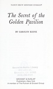 Cover of: The secret of the golden pavilion