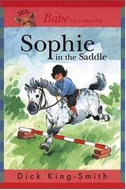 Cover of: Sophie in the Saddle (Sophie Books) | Jean Little