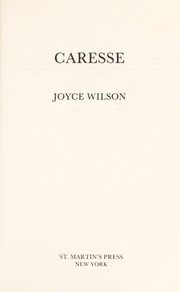 Cover of: Caresse