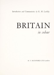 Cover of: Britain in colour | R. M. Lockley