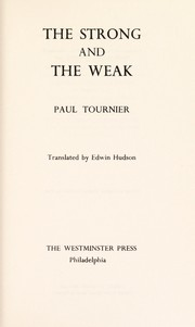 Cover of: The strong and the weak
