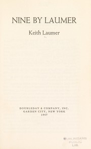Cover of: Nine by Laumer. | Keith Laumer