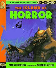Cover of: The island of horror | Patrick Burston