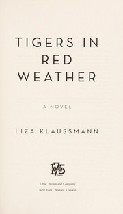 Cover of: Tigers in red weather