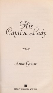 Cover of: His captive lady