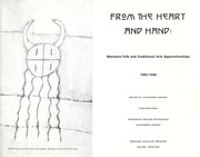 Cover of: From the heart and hand