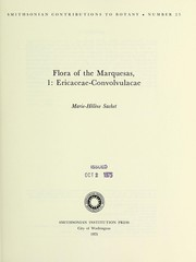 Cover of: Flora of the Marquesas