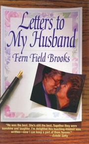 Cover of: Letters to my husband