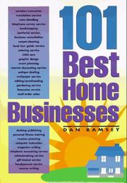 Cover of: 101 best home businesses | Dan Ramsey