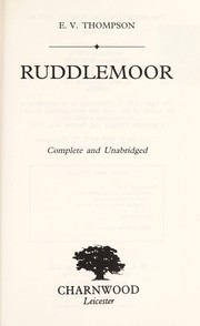 Cover of: Ruddlemoor