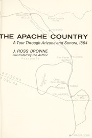 Cover of: Adventures in the Apache country | J. Ross Browne