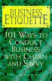 Cover of: Business Etiquette