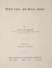 Cover of: Witch Crow and Barney Bylow | James Ball Naylor