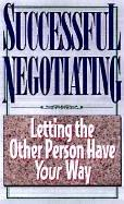 Cover of: Successful negotiating | Ginny Pearson Barnes