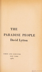 Cover of: The Paradise People